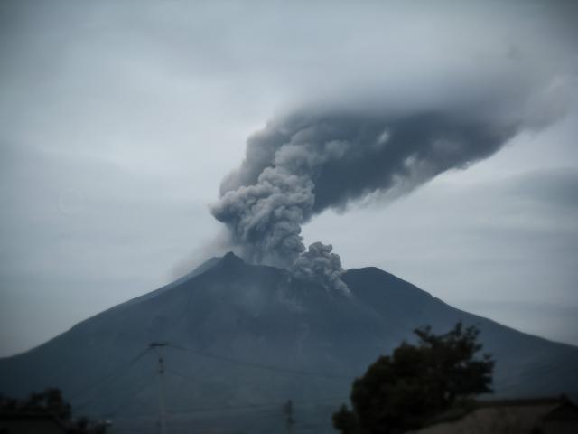 ボブが活躍する火山島