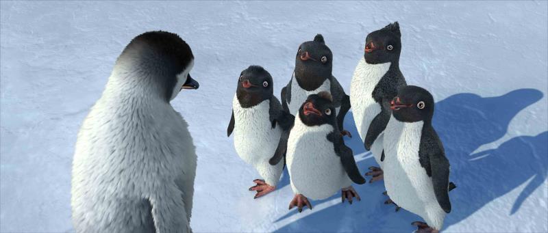 マンブルとアデリーペンギン