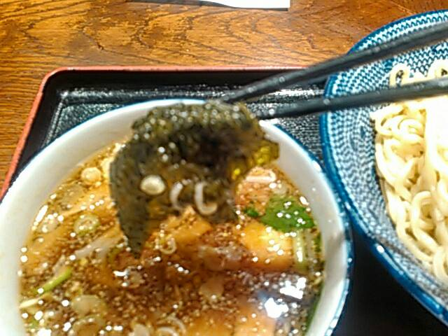 つけ麺の海苔画像