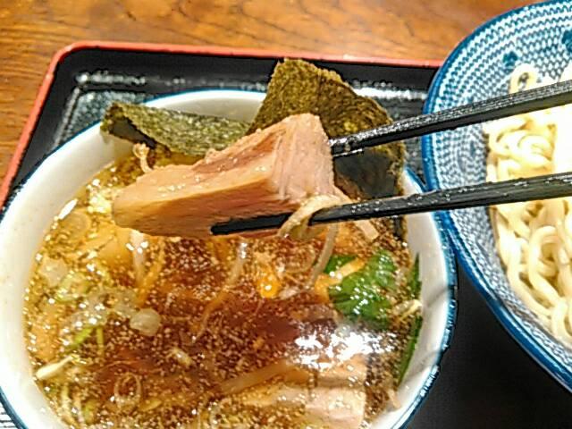 つけ麺のチャーシュー画像