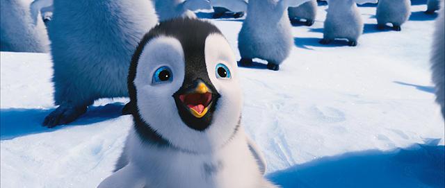 ハッピーフィートに登場するペンギン