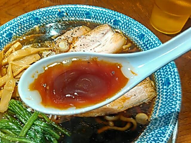 武蔵ブラックのスープ画像
