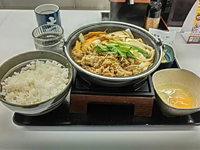 牛すき鍋膳の画像
