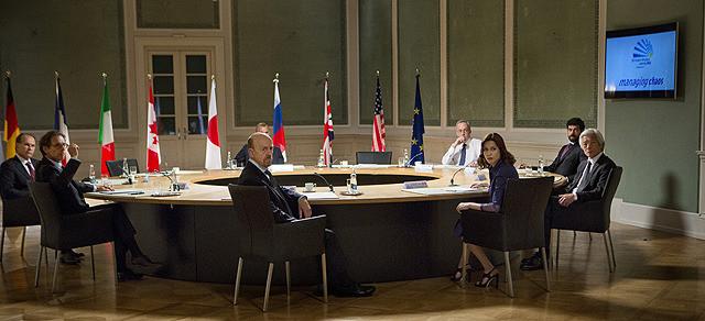 G8の大臣たち
