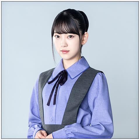 諸積実乃梨役の堀未央奈