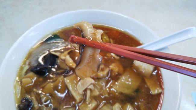 『五目うま煮ラーメン』のシイタケ画像