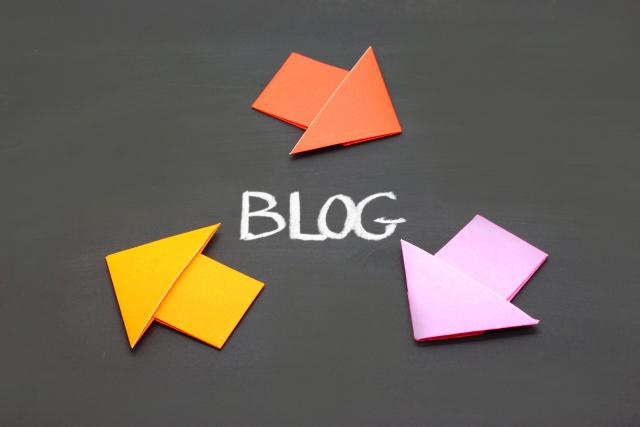 ブログの更新頻度の画像