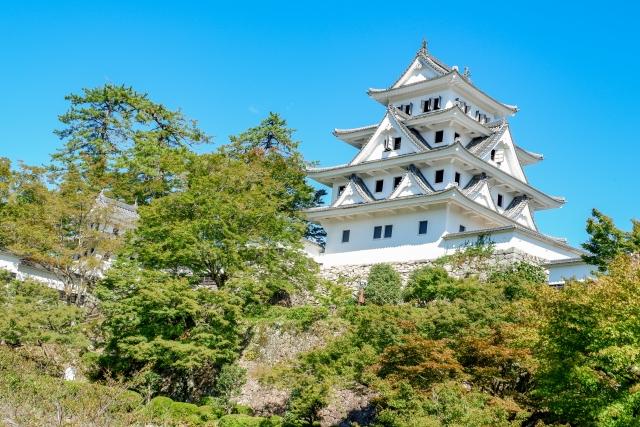 麒麟がくるの岐阜城