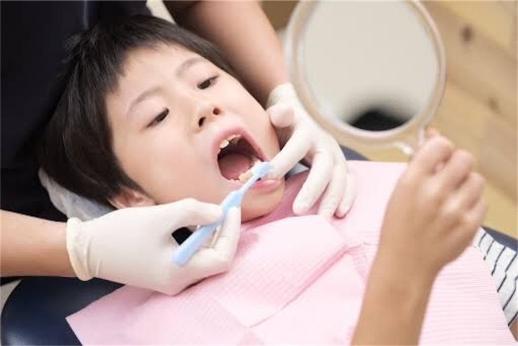 歯を磨く 子供