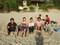 大浜海岸にて