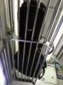 電車の中では邪魔者扱い