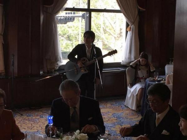 友人の結婚式できる歌ってきました!