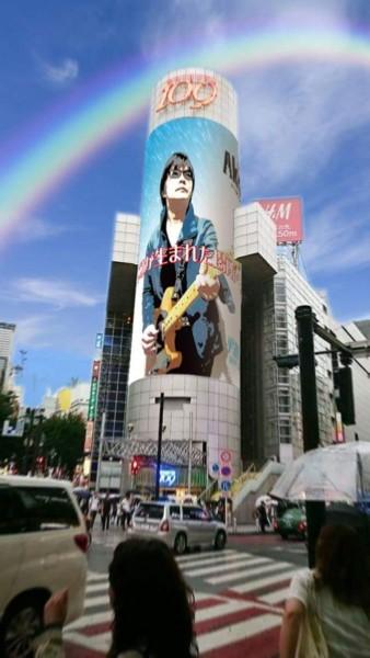 渋谷マウントレーニア当日!あまりにリアル!コラージュ写真ですか
