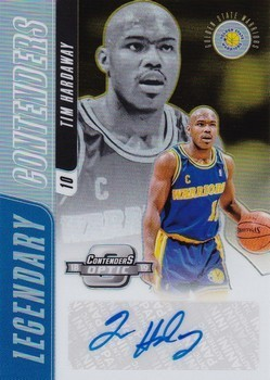 Legendary Contenders Autographs Gold #LC-THW