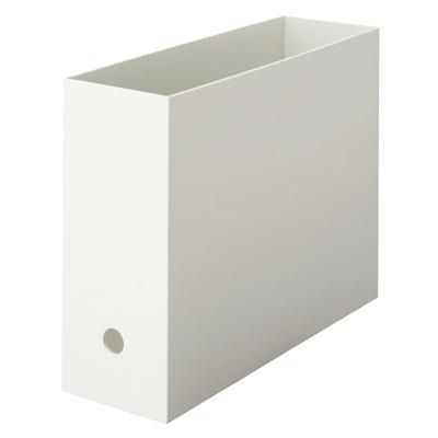 無印良品ファイルボックスA4スタンダードホワイトグレー