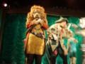 オズのステージショー。ライオンさん。
