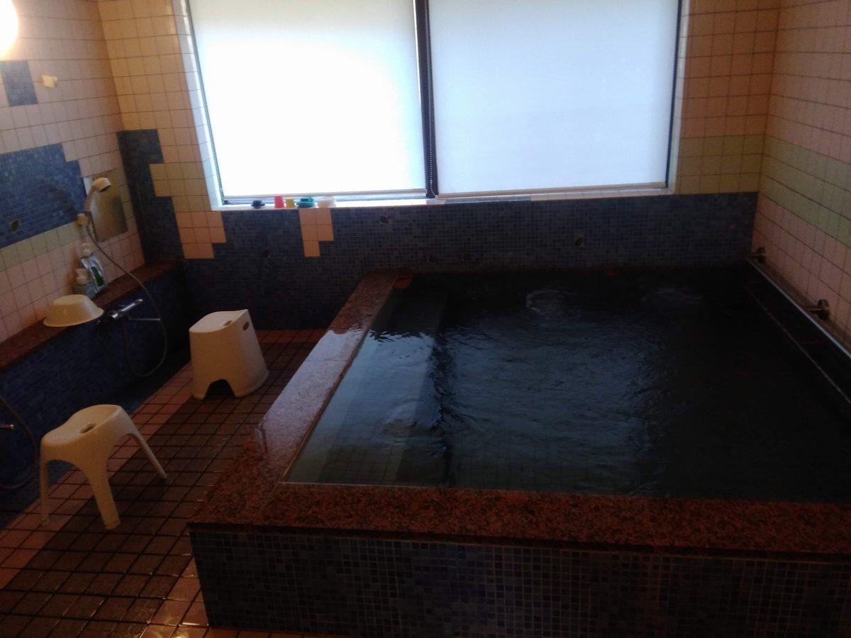 あわくら温泉 元湯の湯船