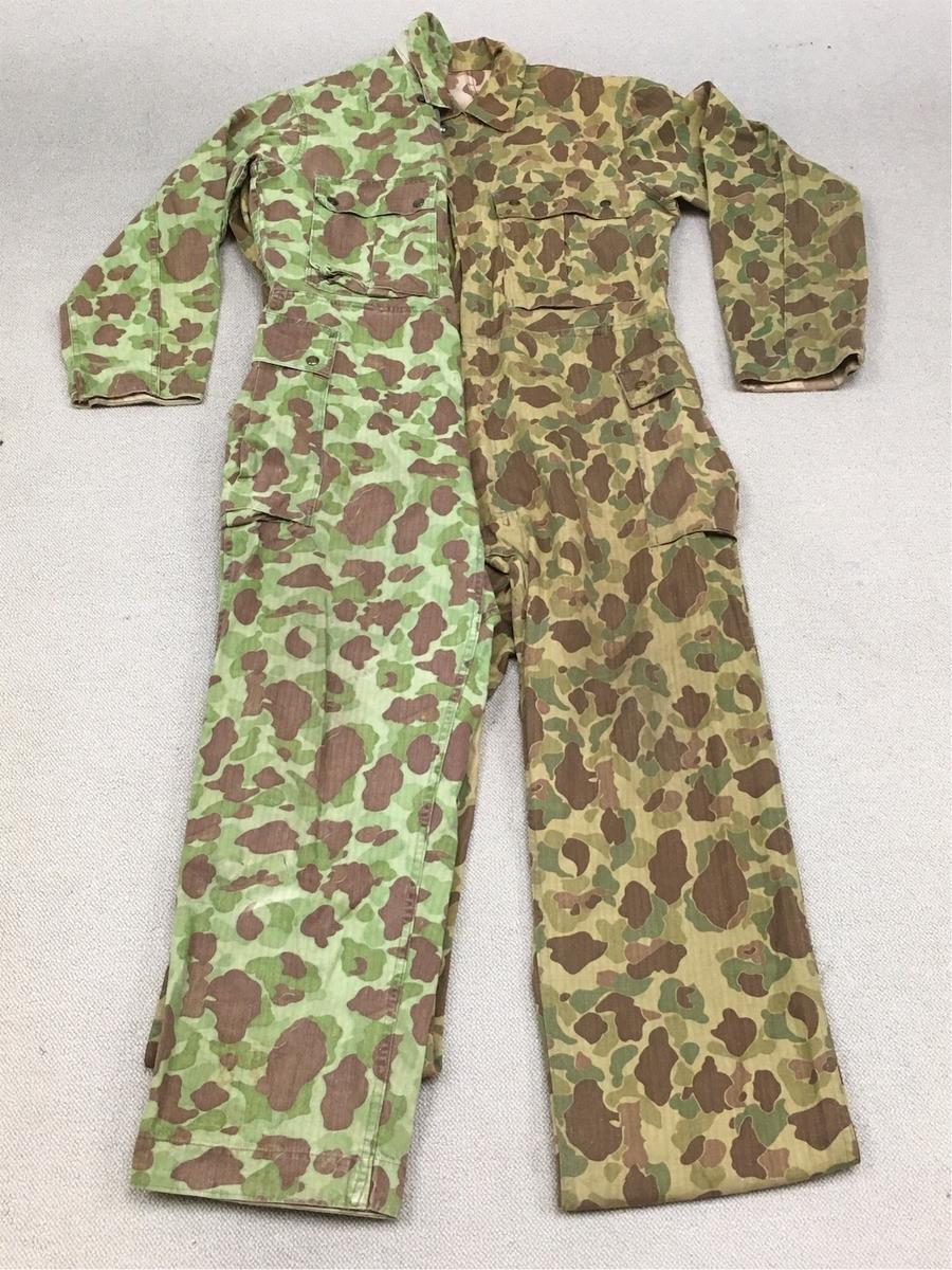 アメリカ陸軍ダックハンター迷彩カバーオール色違いモデル