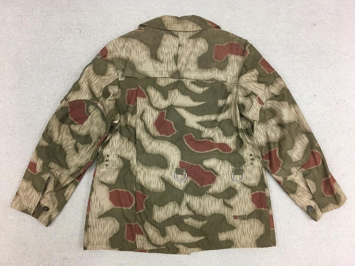 旧西ドイツ国境警備隊BGS迷彩ジャケット背面