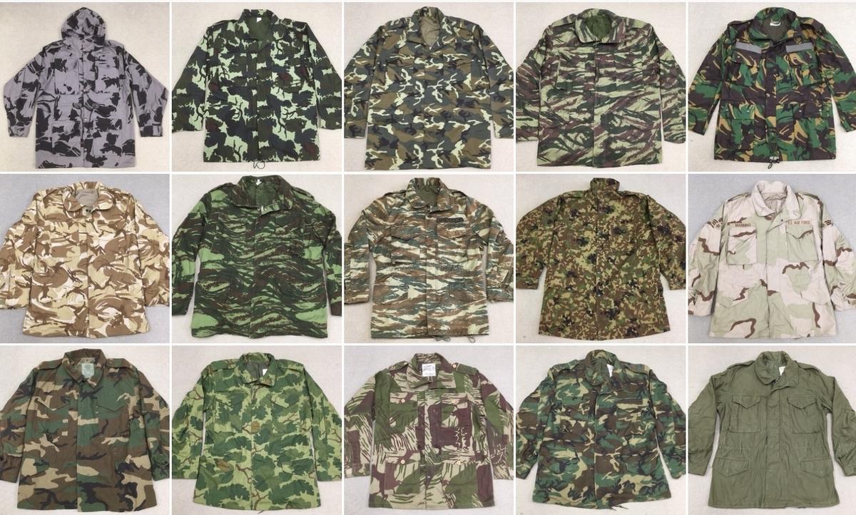 アメリカ軍M65フィールドジャケットと世界の仲間たち