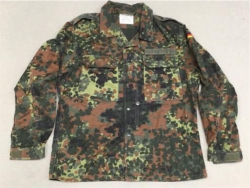 現用ドイツ軍量産型フレック迷彩ジャケット