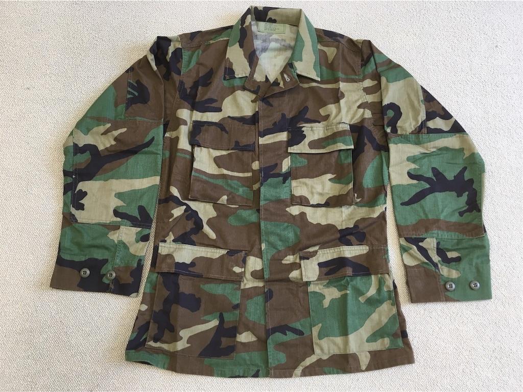 アメリカ軍ウッドランド迷彩ジャケット