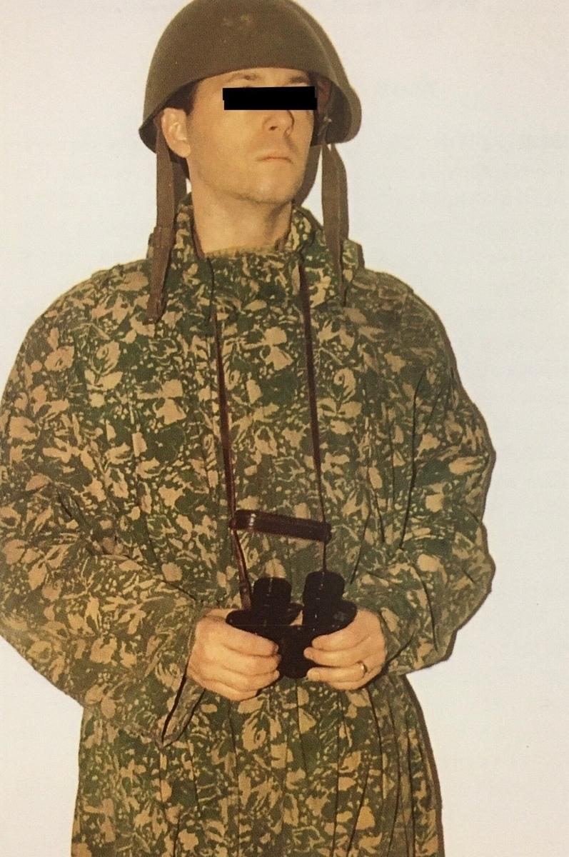 大戦中ソ連軍リーフパターン(2カラー)迷彩服