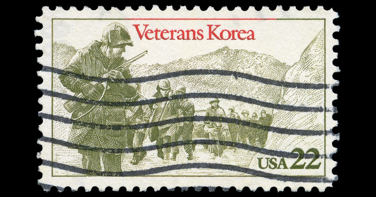 アメリカ朝鮮戦争時代の切手