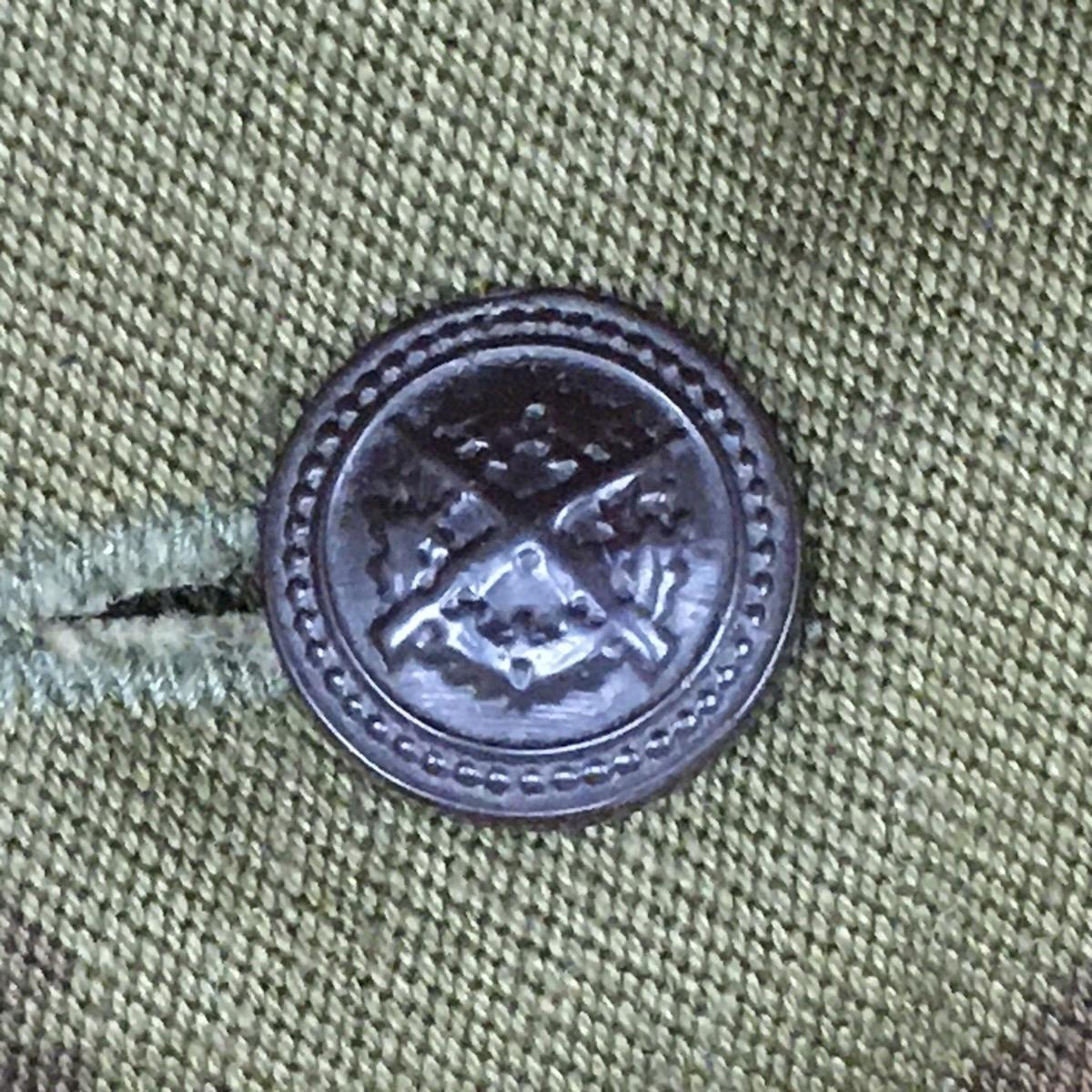 ハンガリー軍迷彩シャツ用ボタン