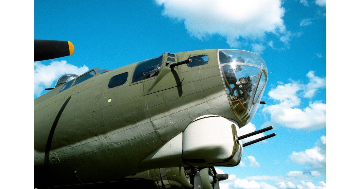 アメリカ陸軍航空隊B–17G爆撃機