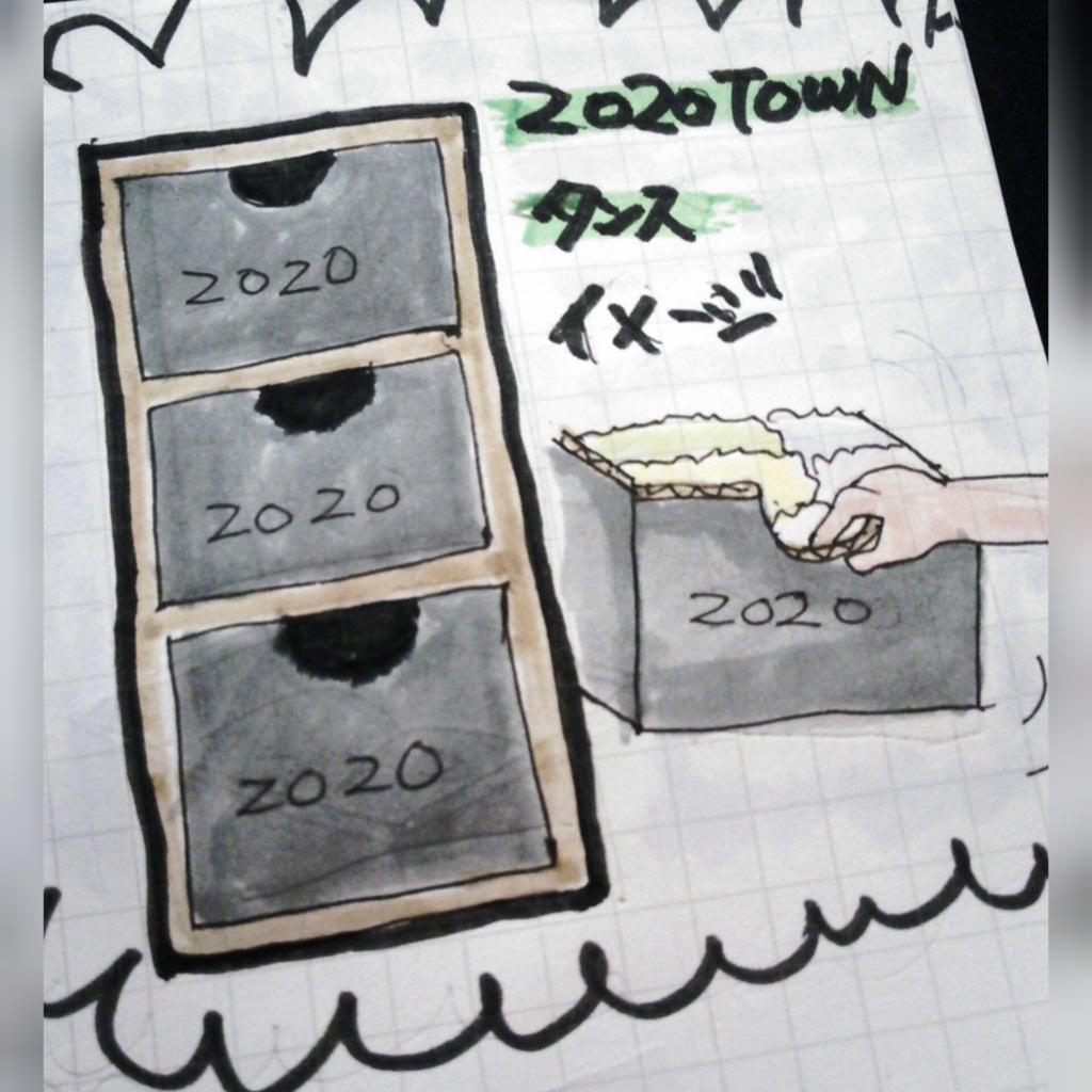 zozotown箱の有効活用