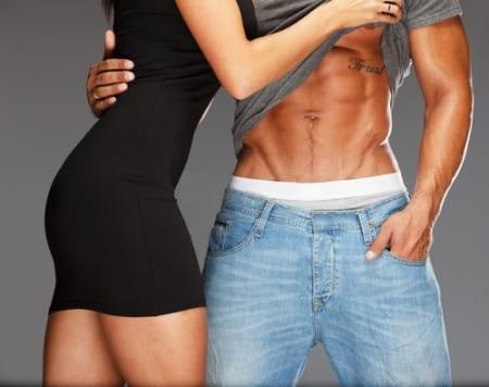 筋肉率が高く筋肉量も多い