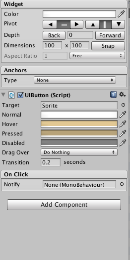 OpeningLayer unity 20140106Unity PC Mac Linux Standalone と Unity NGUIでボタンの作成とSceneのフィード遷移を実装する