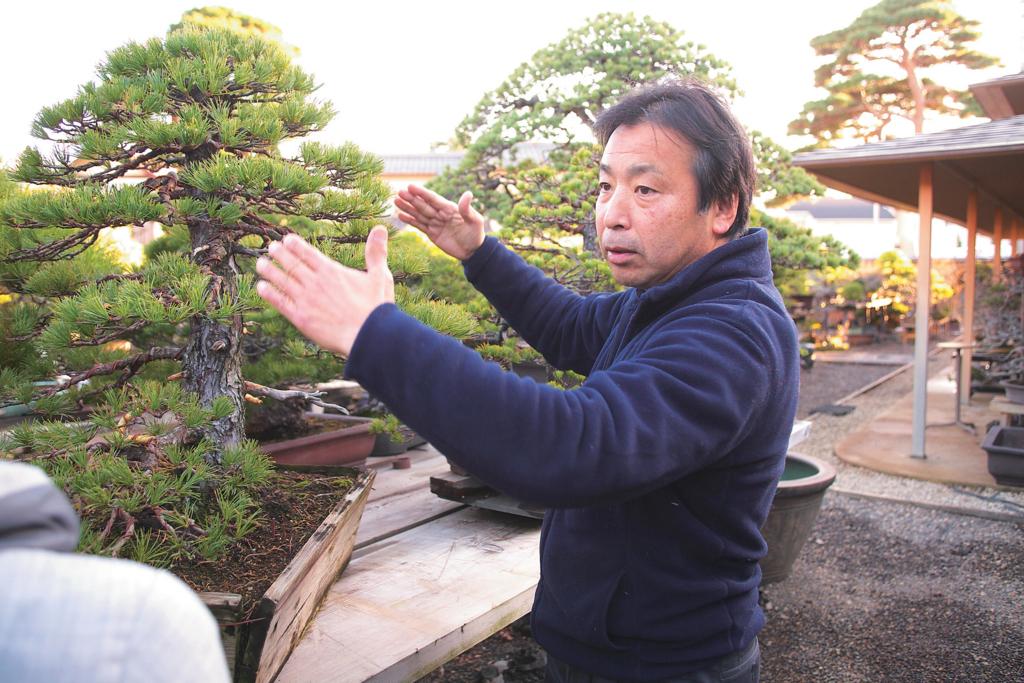 盆栽ネットワーク・ジャパンの中水義弘さん