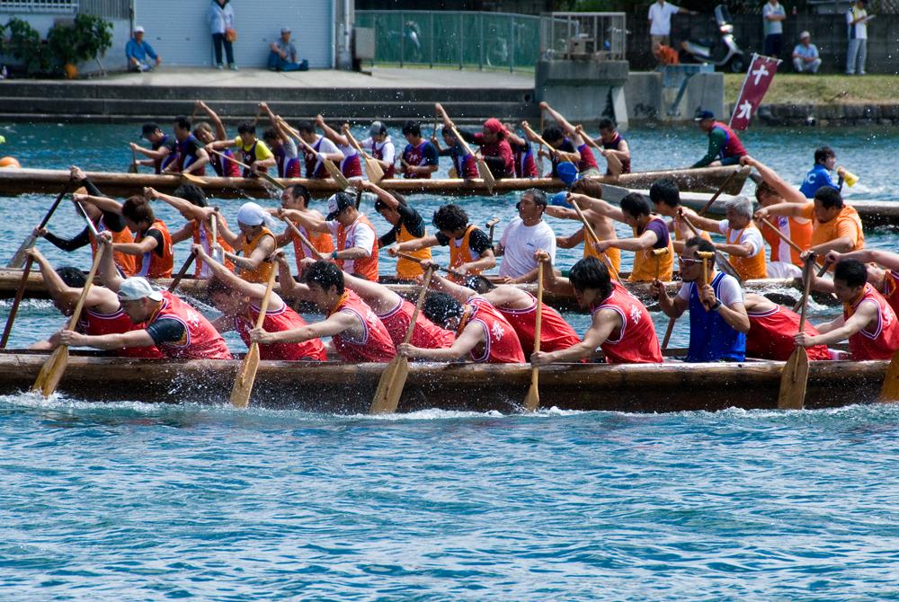 競り舟大会