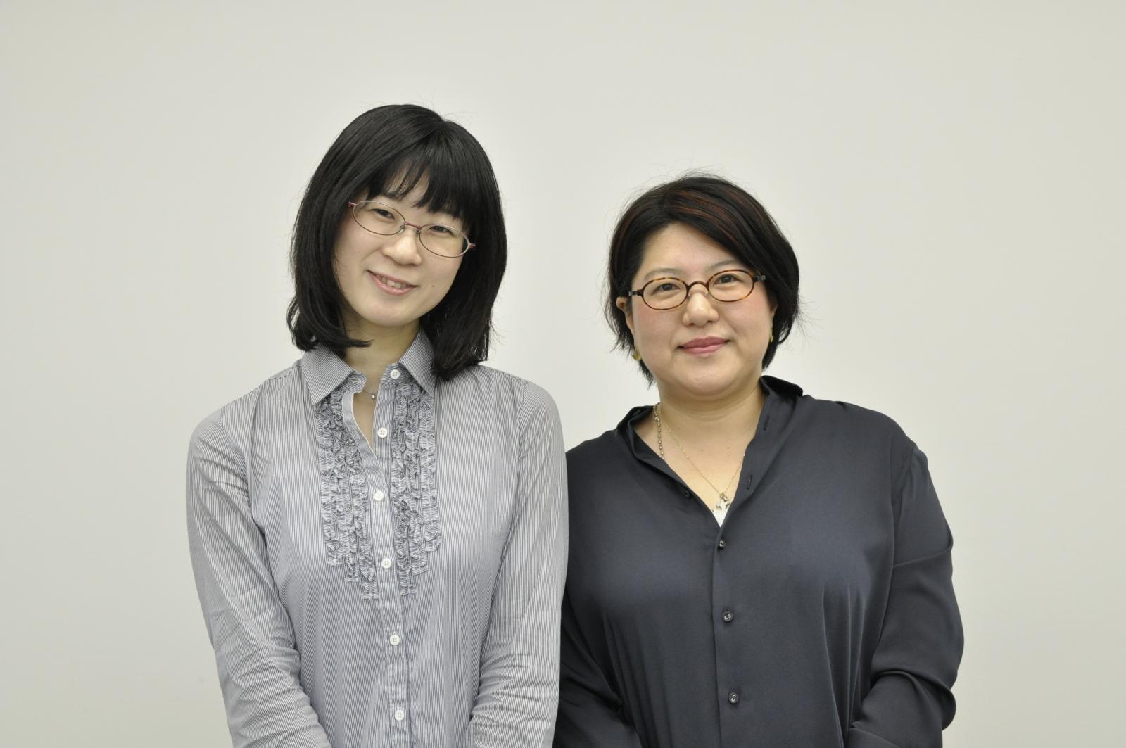 三吉先生と阪口編集長