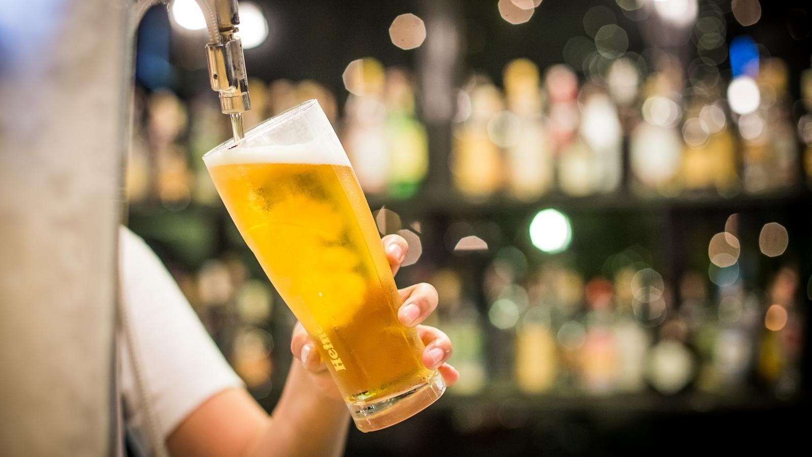 「ビールを買って帰ろうっと」