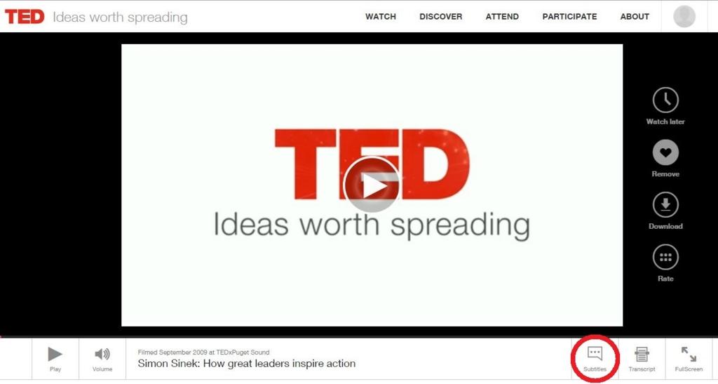 TOEIC対策に役立つTED動画