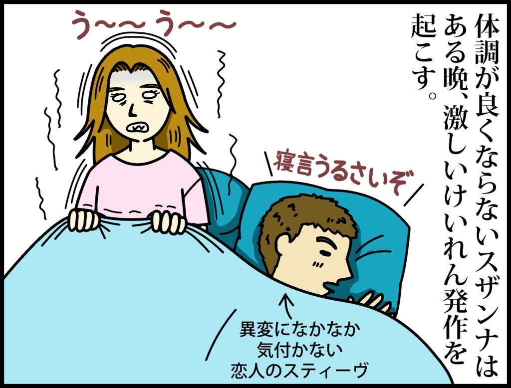 映画『彼女が目覚めるその日まで』を4コマ漫画で3