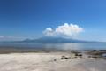 大浦あたりからの島原の眺め
