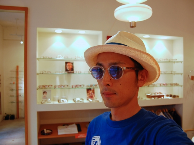 OLIVER PEOPLES Lambeau BECR_かけてみた