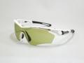 RUDY PROJECT TRALYX ホワイトグロスフレーム インパクトX  調光ゴルフ