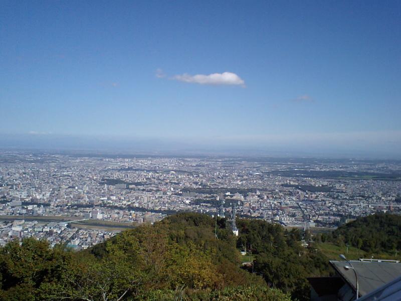 藻岩山から札幌市内 藻岩山から札幌市内 20090923 個別「藻岩山から札幌市内」の写真、画像