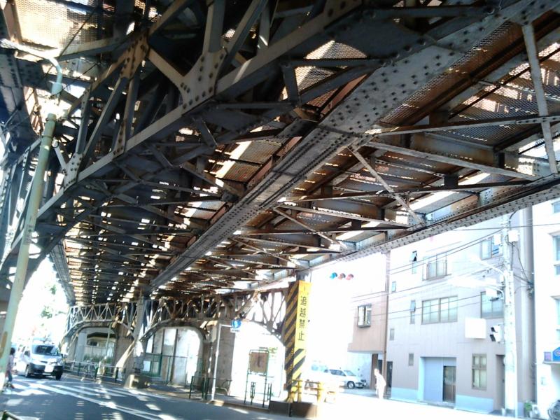 京成町屋高架下