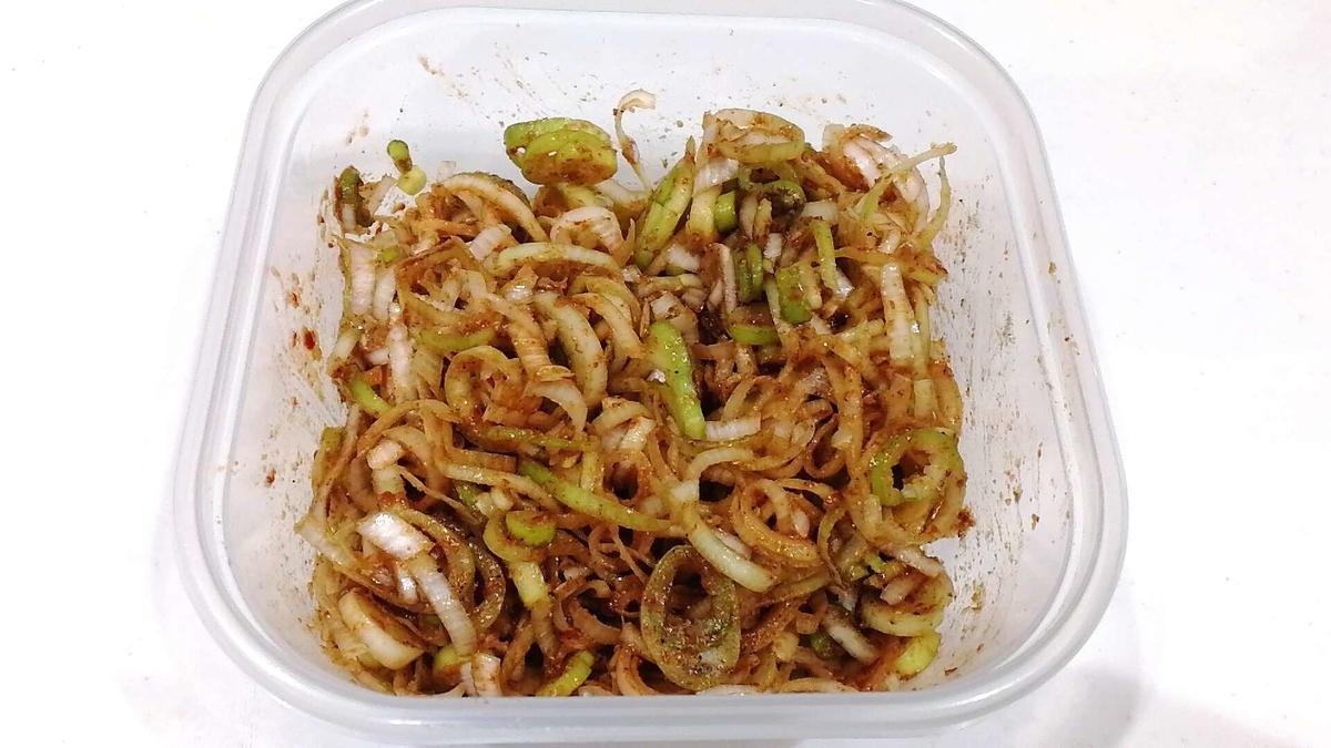 安くて美味しいご飯のおかずが完成!!!