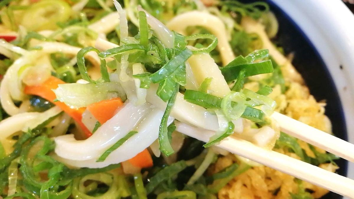 丸亀製麺はネギたっぷりでさらに美味しい!