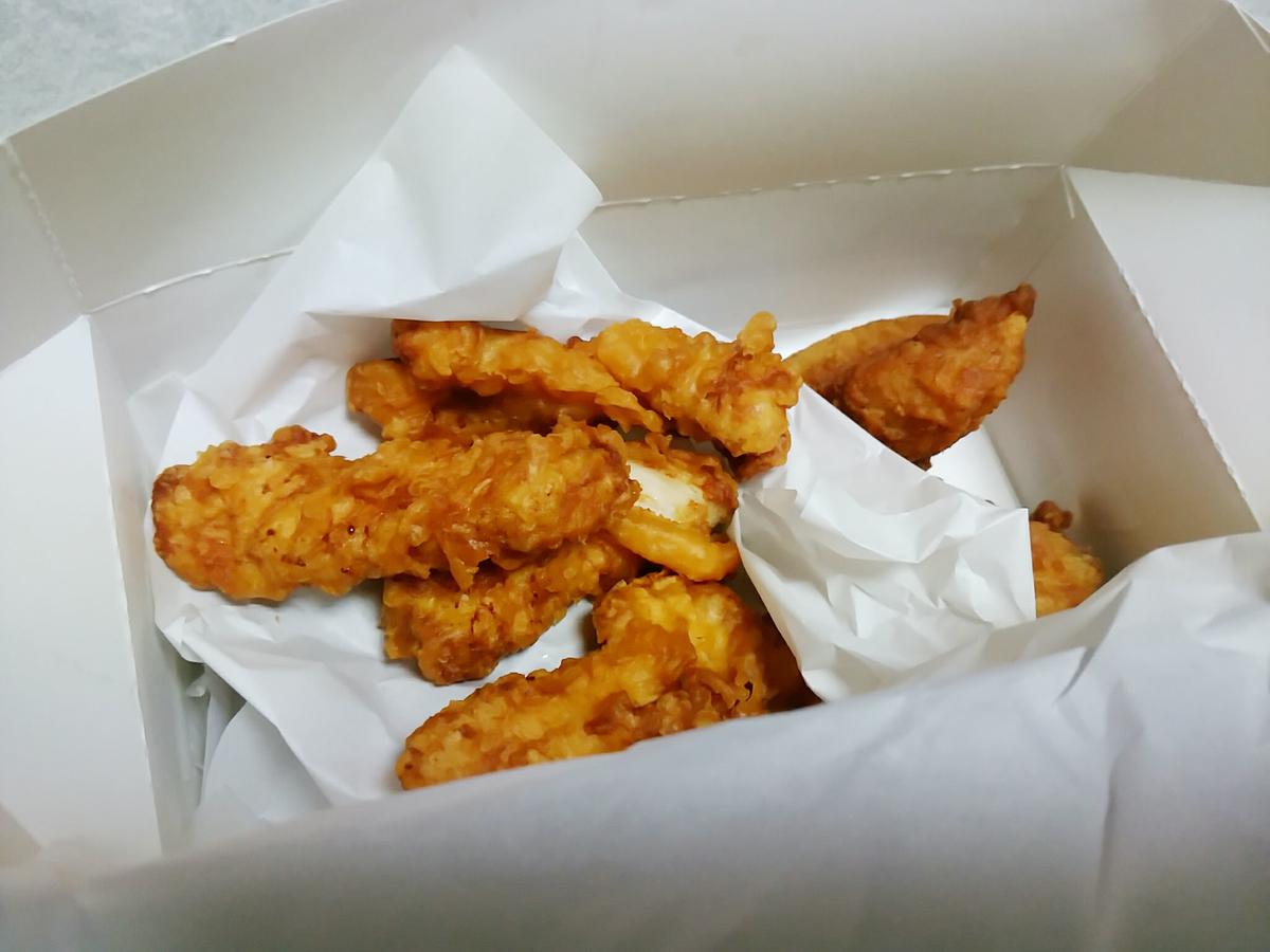 KFCの「とりの日パック」を一人で食べる贅沢!