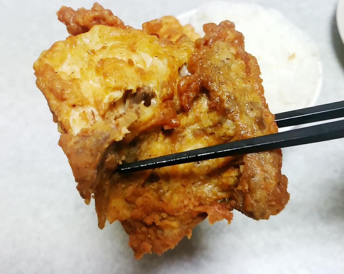 KFCフライドチキンの部位を説明します2