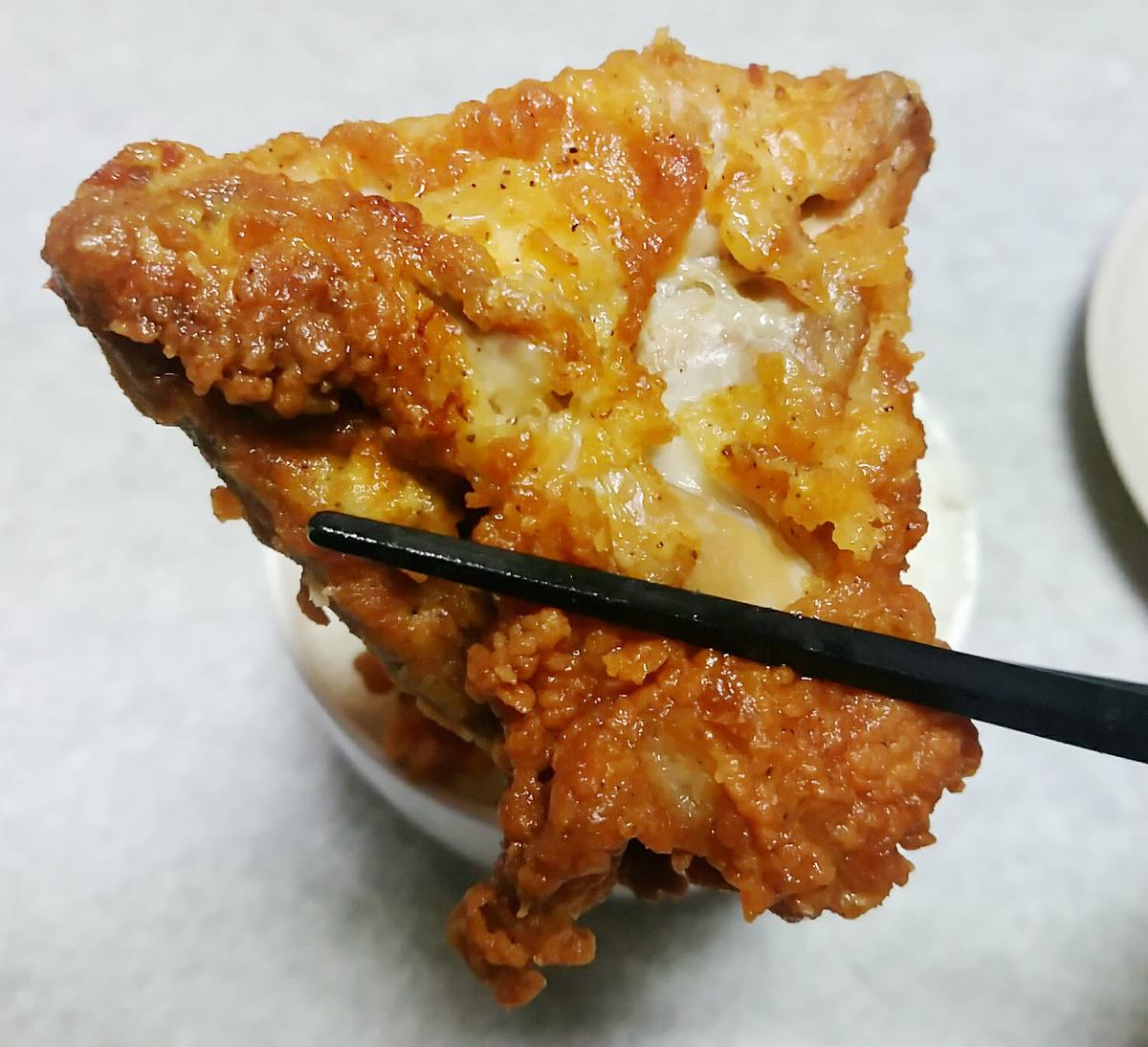 KFCフライドチキンの部位を説明します4
