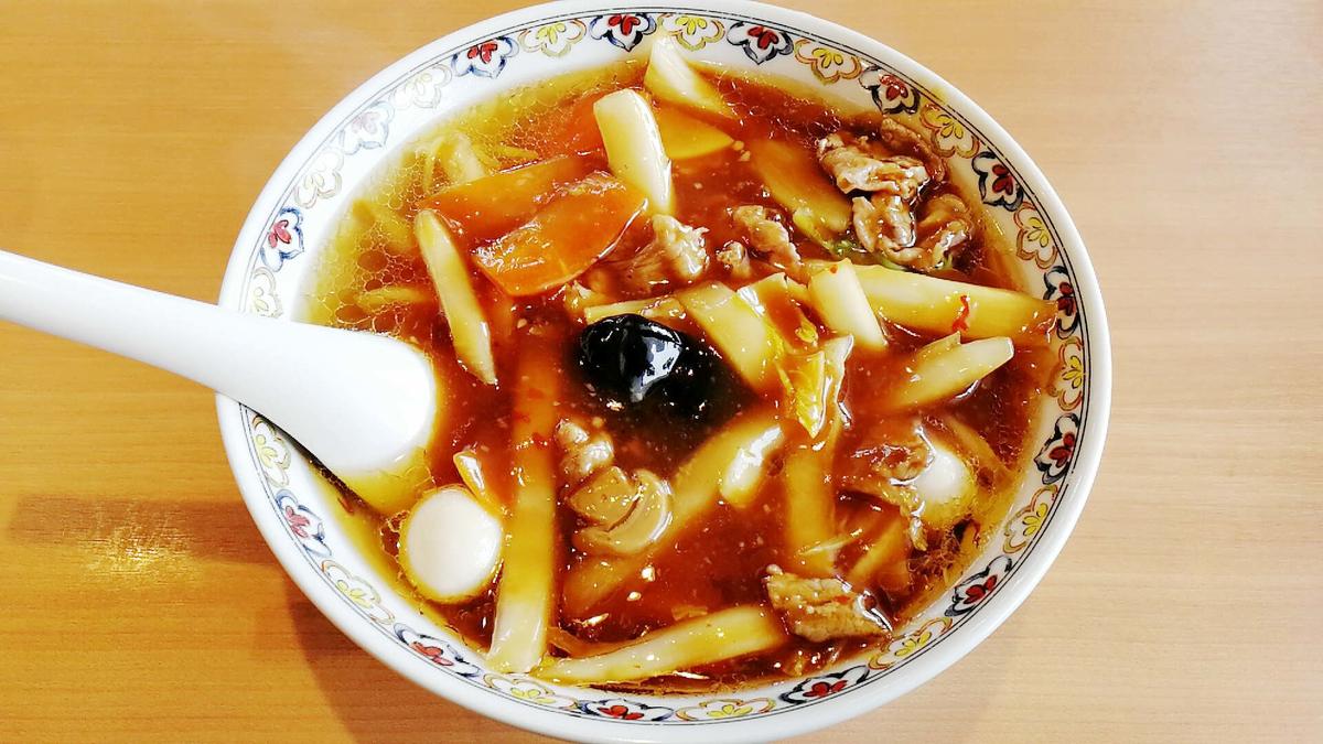 桜木屋の広東麺は間違いない逸品!